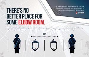 Social Distancing Elbow Room